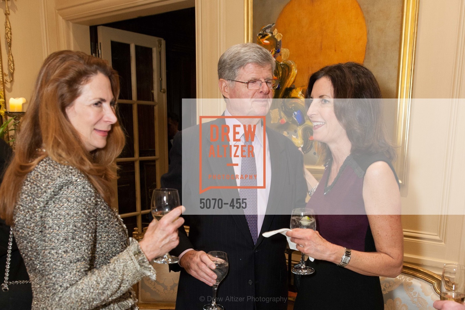 Patricia Ferrin Loucks, Richard Barker, Karen Bergman, SAN FRANCISCO BALLET Grand Benefactors Reception, US. US, January 8th, 2014,Drew Altizer, Drew Altizer Photography, full-service event agency, private events, San Francisco photographer, photographer California