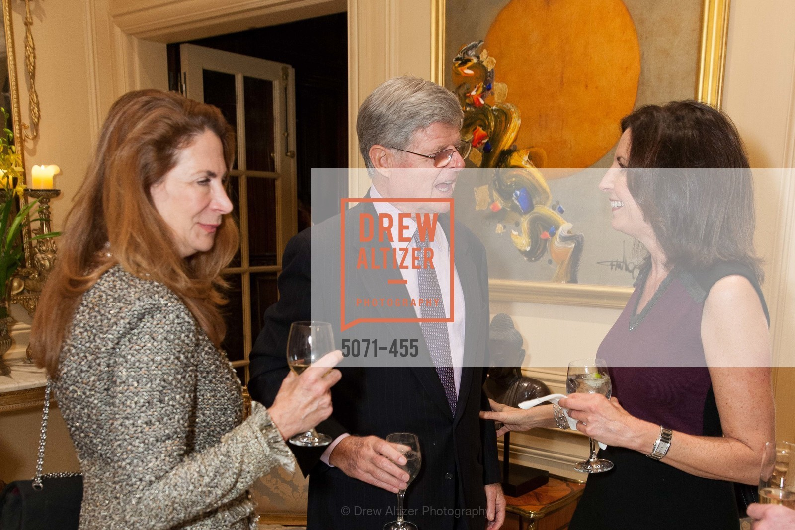 Patricia Ferrin Loucks, Richard Barker, Karen Bergman, SAN FRANCISCO BALLET Grand Benefactors Reception, US. US, January 8th, 2014,Drew Altizer, Drew Altizer Photography, full-service agency, private events, San Francisco photographer, photographer california
