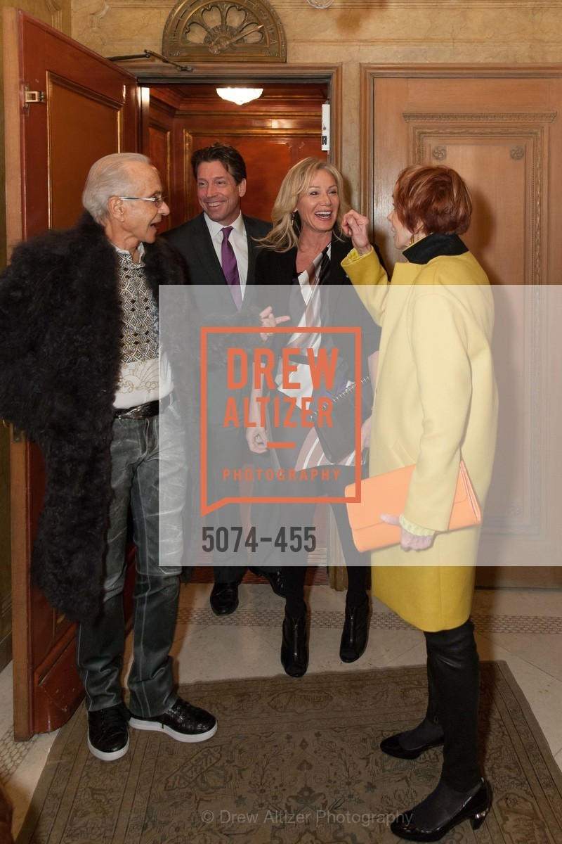 Norman Stone, Rosemary Baker, Bill Yelle, Norah Stone, SAN FRANCISCO BALLET Grand Benefactors Reception, US. US, January 8th, 2014,Drew Altizer, Drew Altizer Photography, full-service event agency, private events, San Francisco photographer, photographer California