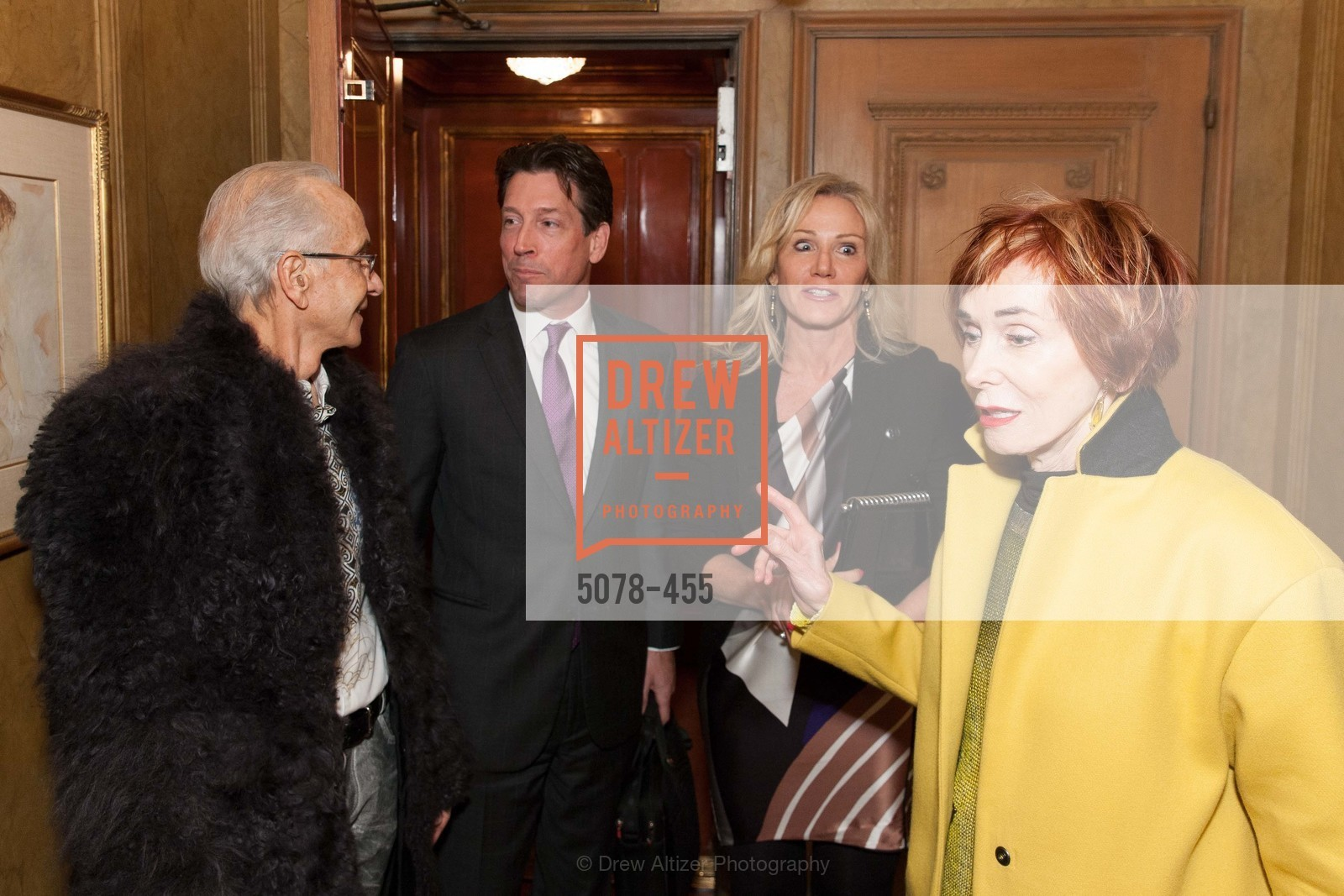 Norman Stone, Rosemary Baker, Bill Yelle, Norah Stone, SAN FRANCISCO BALLET Grand Benefactors Reception, US. US, January 8th, 2014,Drew Altizer, Drew Altizer Photography, full-service agency, private events, San Francisco photographer, photographer california
