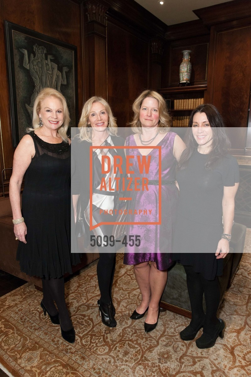 Claire Kostic, Rosemary Baker, Ann Baer, Deborah Taylor, SAN FRANCISCO BALLET Grand Benefactors Reception, US. US, January 8th, 2014,Drew Altizer, Drew Altizer Photography, full-service agency, private events, San Francisco photographer, photographer california