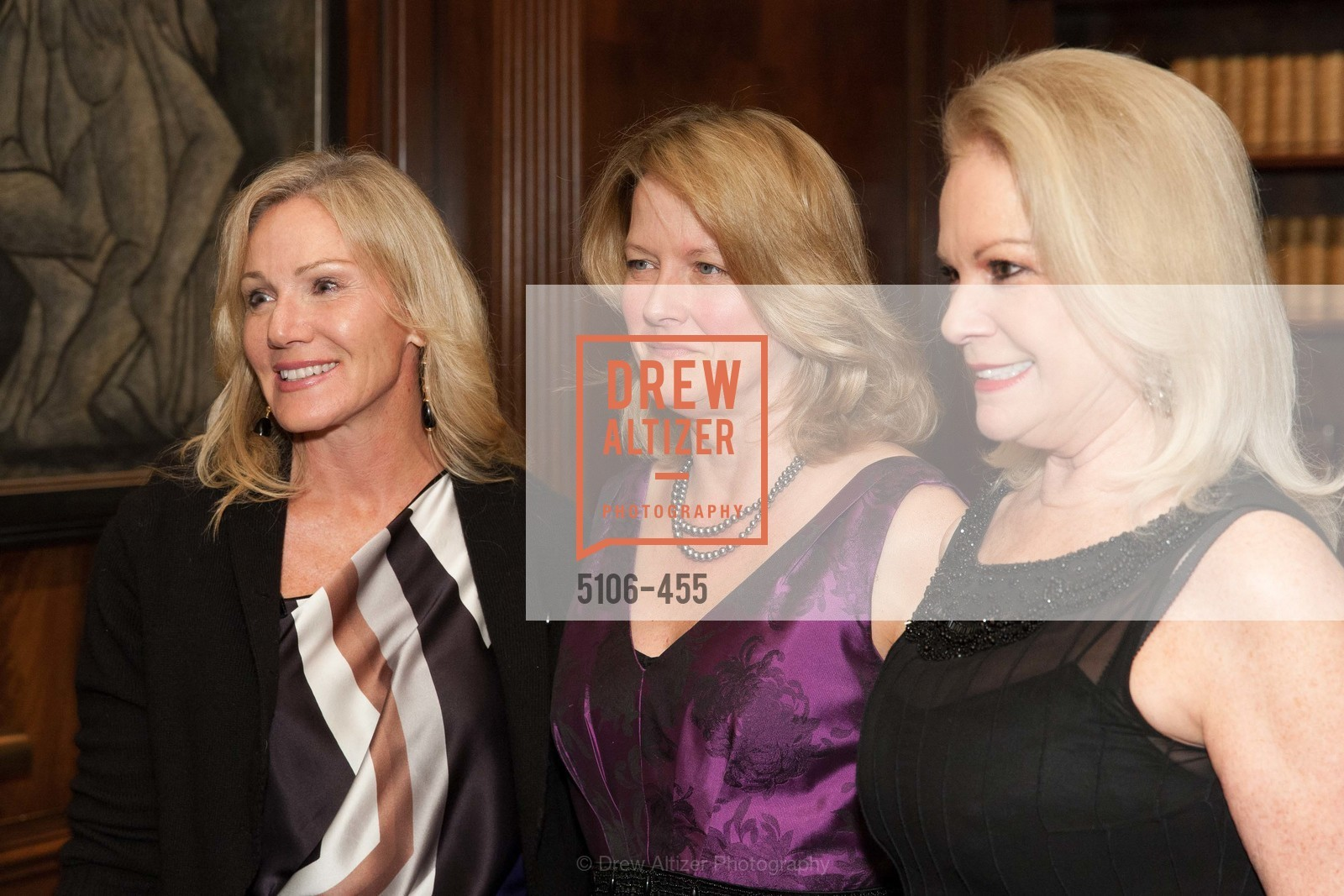 Rosemary Baker, Ann Baer, Claire Kostic, SAN FRANCISCO BALLET Grand Benefactors Reception, US. US, January 8th, 2014,Drew Altizer, Drew Altizer Photography, full-service event agency, private events, San Francisco photographer, photographer California