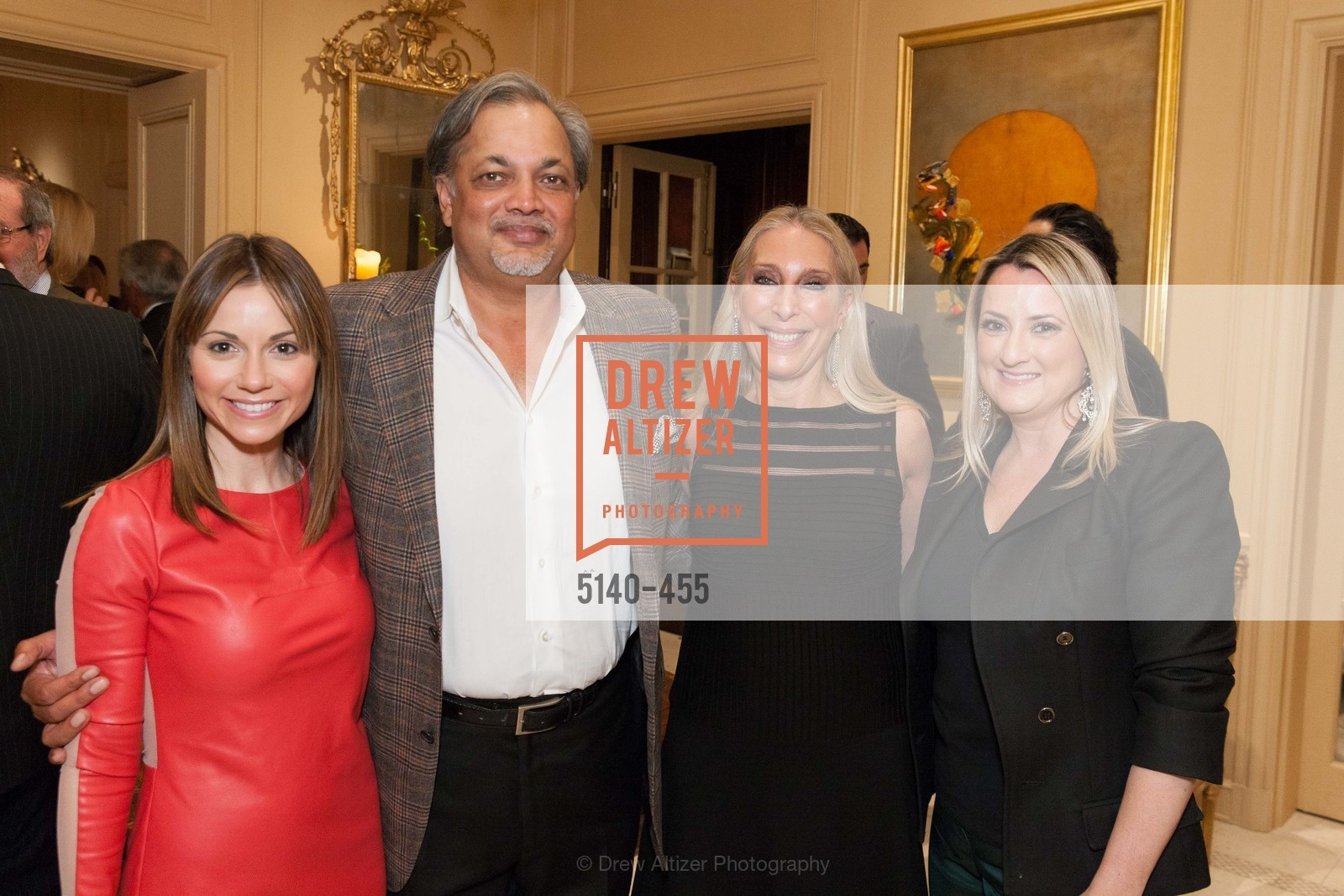 Monica Mazzei, Asim Abdullah, Betsy Linder, Jennifer Margolin, SAN FRANCISCO BALLET Grand Benefactors Reception, US. US, January 8th, 2014,Drew Altizer, Drew Altizer Photography, full-service agency, private events, San Francisco photographer, photographer california