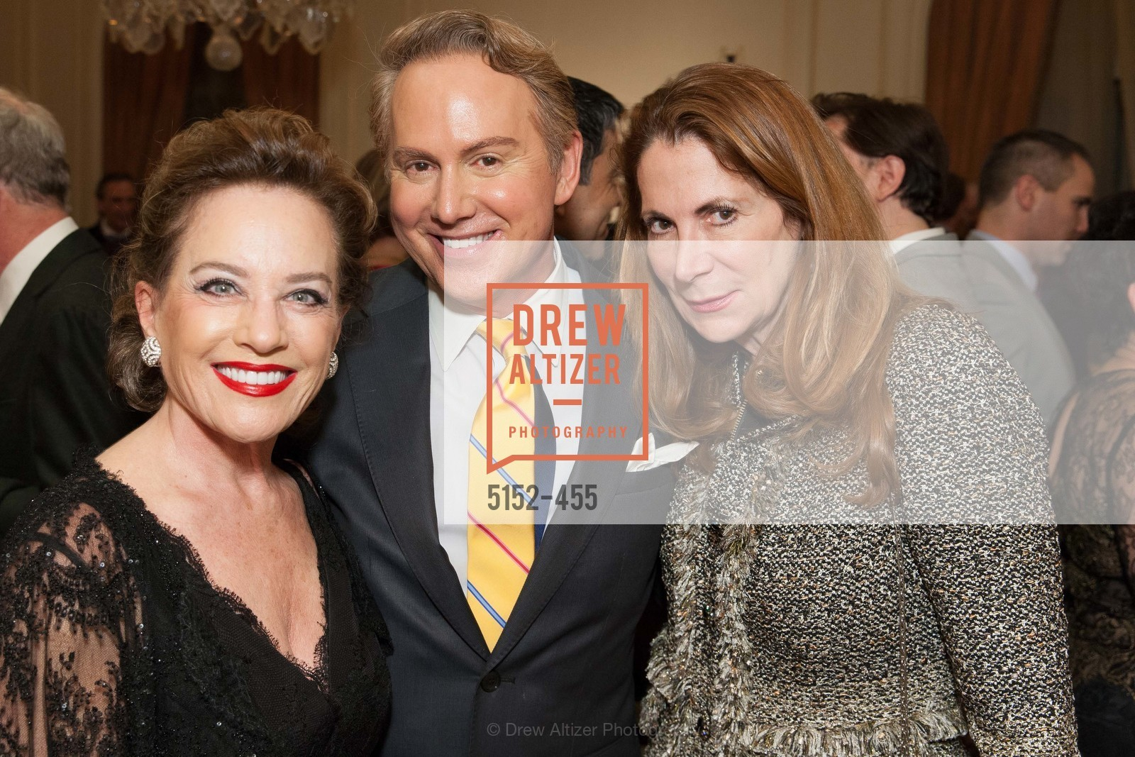 Robin Collins, Joel Goodrich, Patricia Ferrin Loucks, SAN FRANCISCO BALLET Grand Benefactors Reception, US. US, January 8th, 2014,Drew Altizer, Drew Altizer Photography, full-service event agency, private events, San Francisco photographer, photographer California