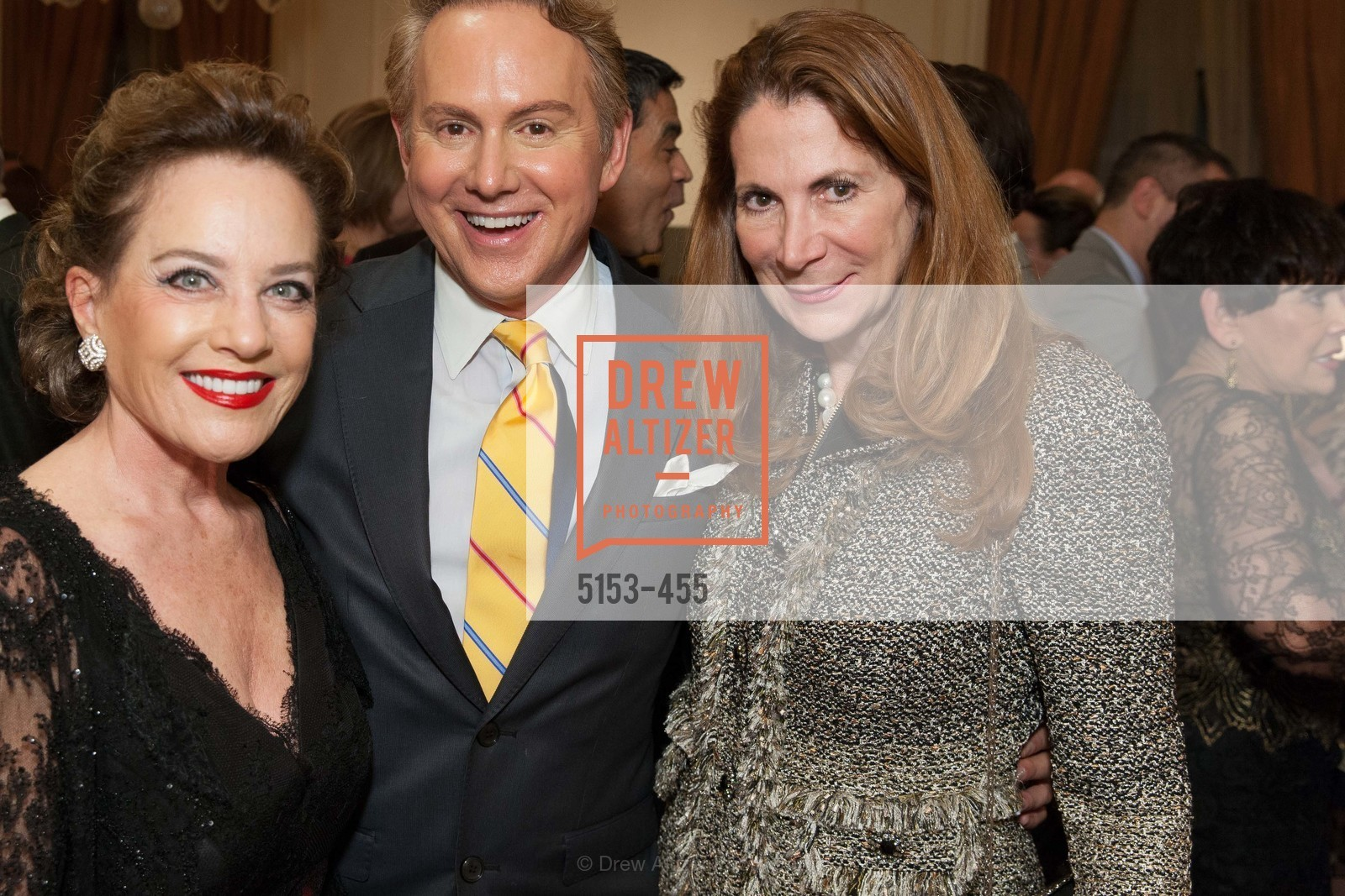 Robin Collins, Joel Goodrich, Patricia Ferrin Loucks, SAN FRANCISCO BALLET Grand Benefactors Reception, US. US, January 8th, 2014,Drew Altizer, Drew Altizer Photography, full-service agency, private events, San Francisco photographer, photographer california