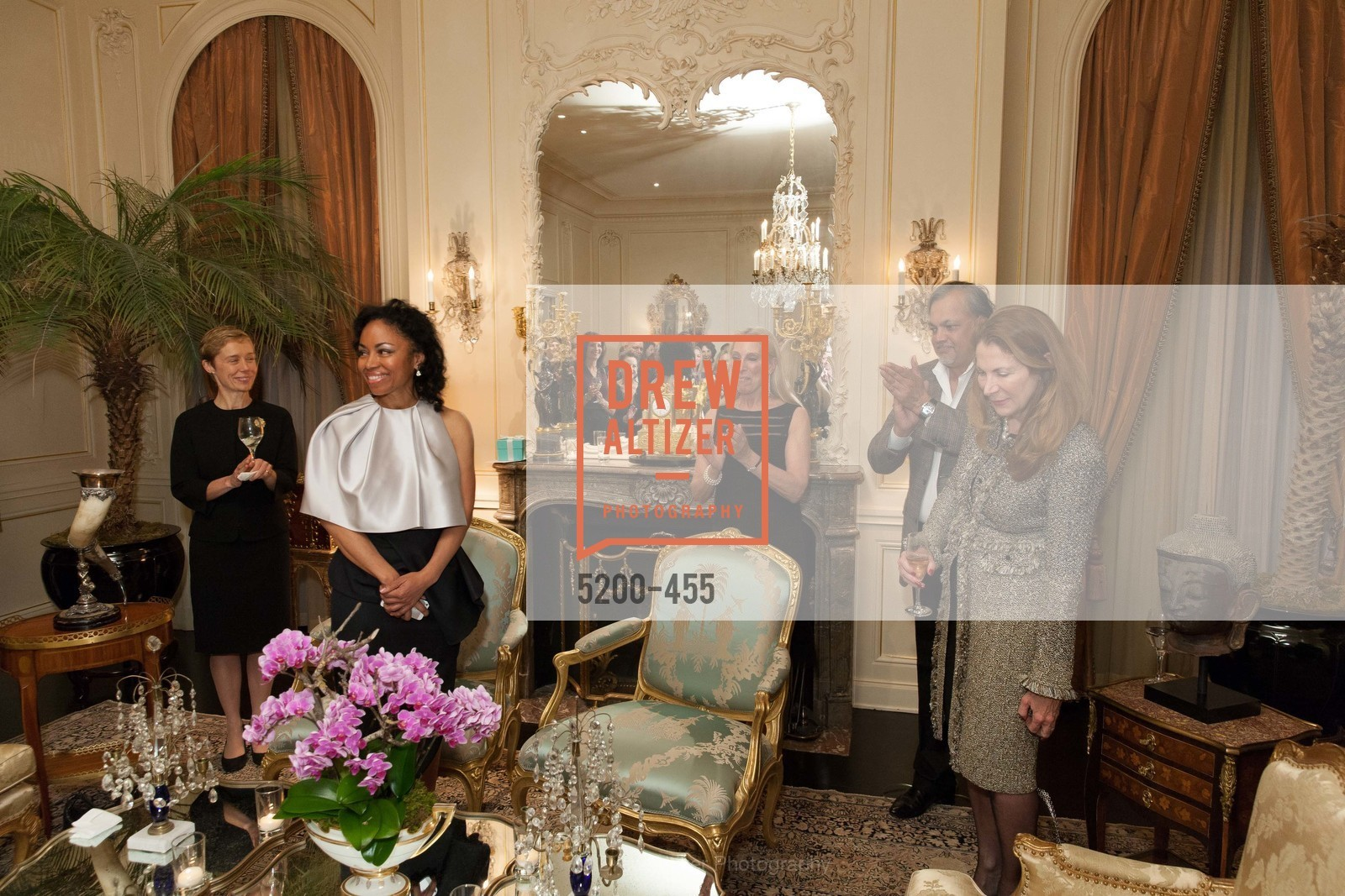 Larissa Roesch, Tanya Powell, Betsy Linder, Asim Abdullah, Patricia Ferrin Loucks, SAN FRANCISCO BALLET Grand Benefactors Reception, US. US, January 8th, 2014,Drew Altizer, Drew Altizer Photography, full-service agency, private events, San Francisco photographer, photographer california