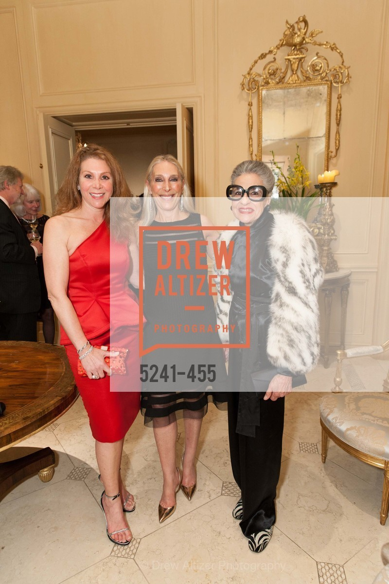 Debra Leylegian, Betsy Linder, Joy Venturini Bianchi, SAN FRANCISCO BALLET Grand Benefactors Reception, US. US, January 8th, 2014,Drew Altizer, Drew Altizer Photography, full-service agency, private events, San Francisco photographer, photographer california