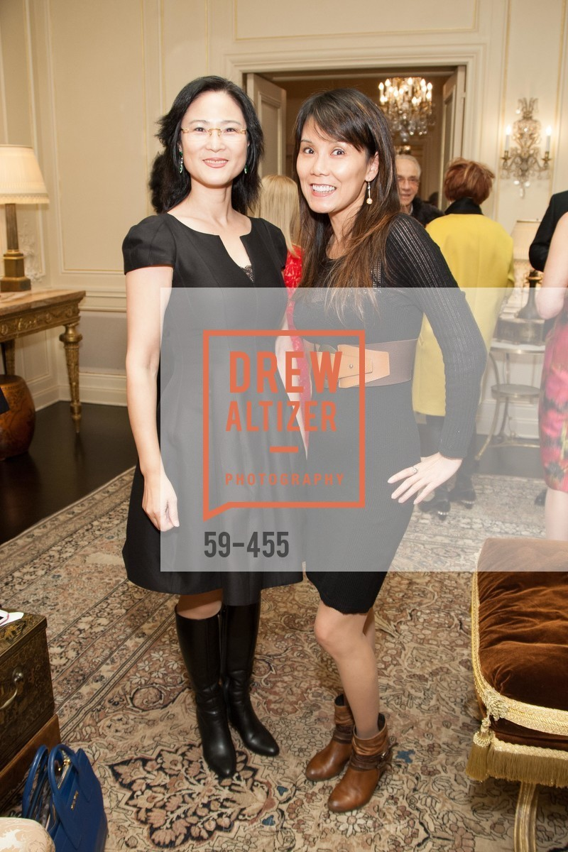 Sally Sobek, Beverly Hu, SAN FRANCISCO BALLET Grand Benefactors Reception, US. US, January 8th, 2014,Drew Altizer, Drew Altizer Photography, full-service agency, private events, San Francisco photographer, photographer california
