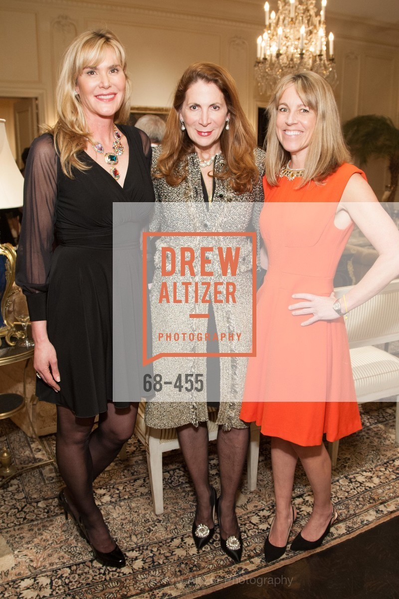 Jill Wickersham, Patricia Ferrin Loucks, Nora Feeley, SAN FRANCISCO BALLET Grand Benefactors Reception, US. US, January 8th, 2014,Drew Altizer, Drew Altizer Photography, full-service agency, private events, San Francisco photographer, photographer california