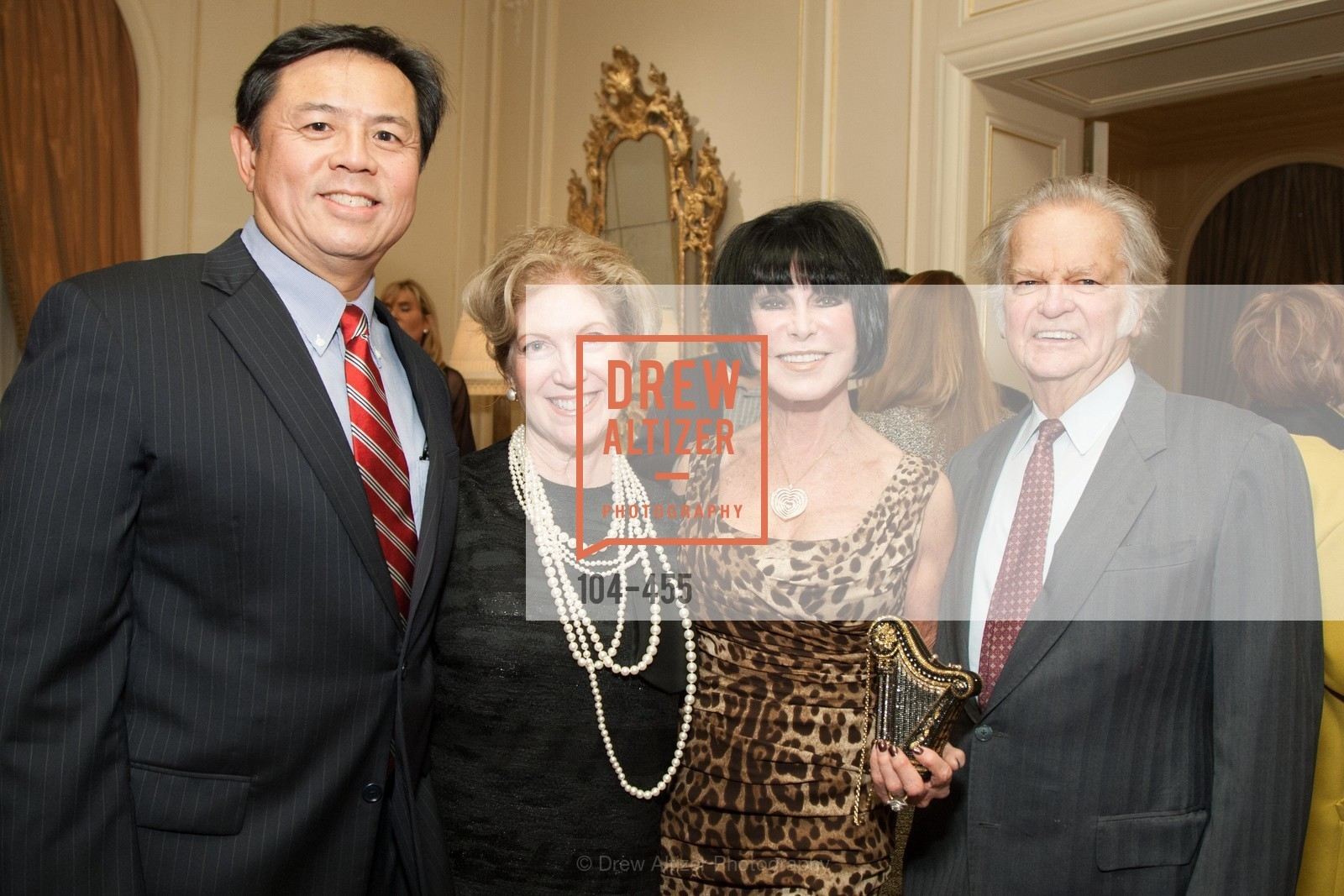 Darryl Woo, Celeste Woo, Marilyn Cabak, Michael Cabak, SAN FRANCISCO BALLET Grand Benefactors Reception, US. US, January 8th, 2014,Drew Altizer, Drew Altizer Photography, full-service agency, private events, San Francisco photographer, photographer california