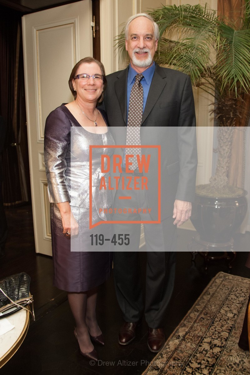 Carolyn Koenig, Mark Koenig, SAN FRANCISCO BALLET Grand Benefactors Reception, US. US, January 8th, 2014