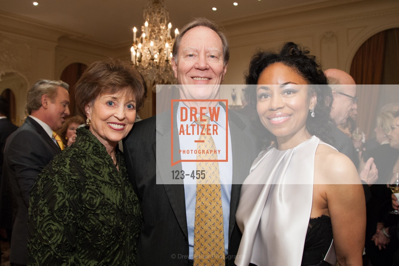 Suzanne Thornton, Charlie Thornton, Tanya Pwell, SAN FRANCISCO BALLET Grand Benefactors Reception, US. US, January 8th, 2014,Drew Altizer, Drew Altizer Photography, full-service agency, private events, San Francisco photographer, photographer california