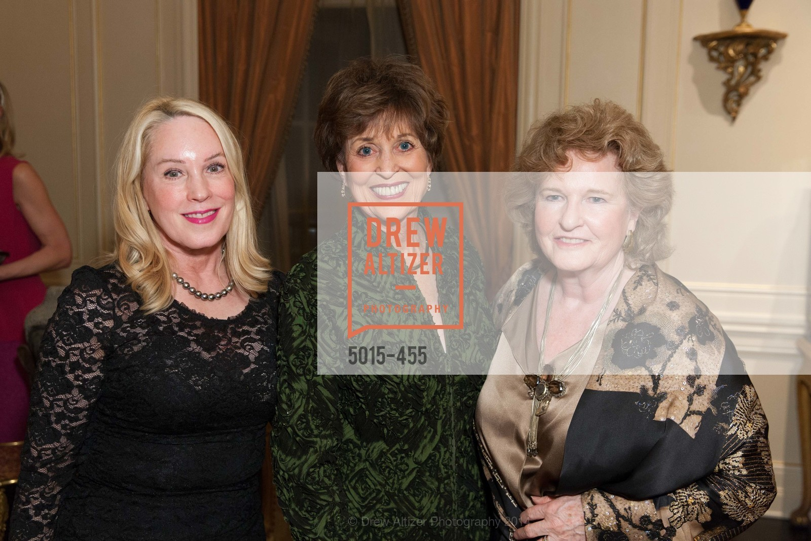 Mary Heylin, Suzanne Thornton, Rene Hollins, SAN FRANCISCO BALLET Grand Benefactors Reception, US. US, January 8th, 2014,Drew Altizer, Drew Altizer Photography, full-service agency, private events, San Francisco photographer, photographer california