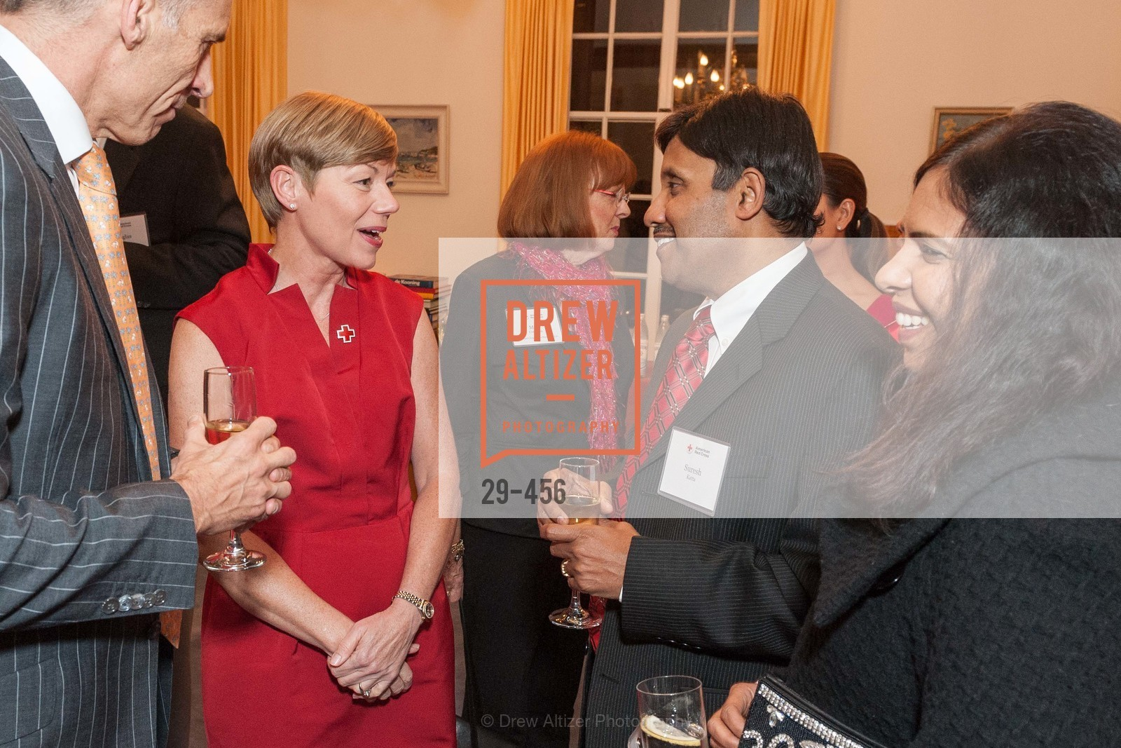 Mark Cloutier, Paula Downey, Mary Cranston, Suresh Katta, RED CROSS San Francisco 2014 Consulate Reception, US. German Consulate, January 9th, 2014,Drew Altizer, Drew Altizer Photography, full-service agency, private events, San Francisco photographer, photographer california