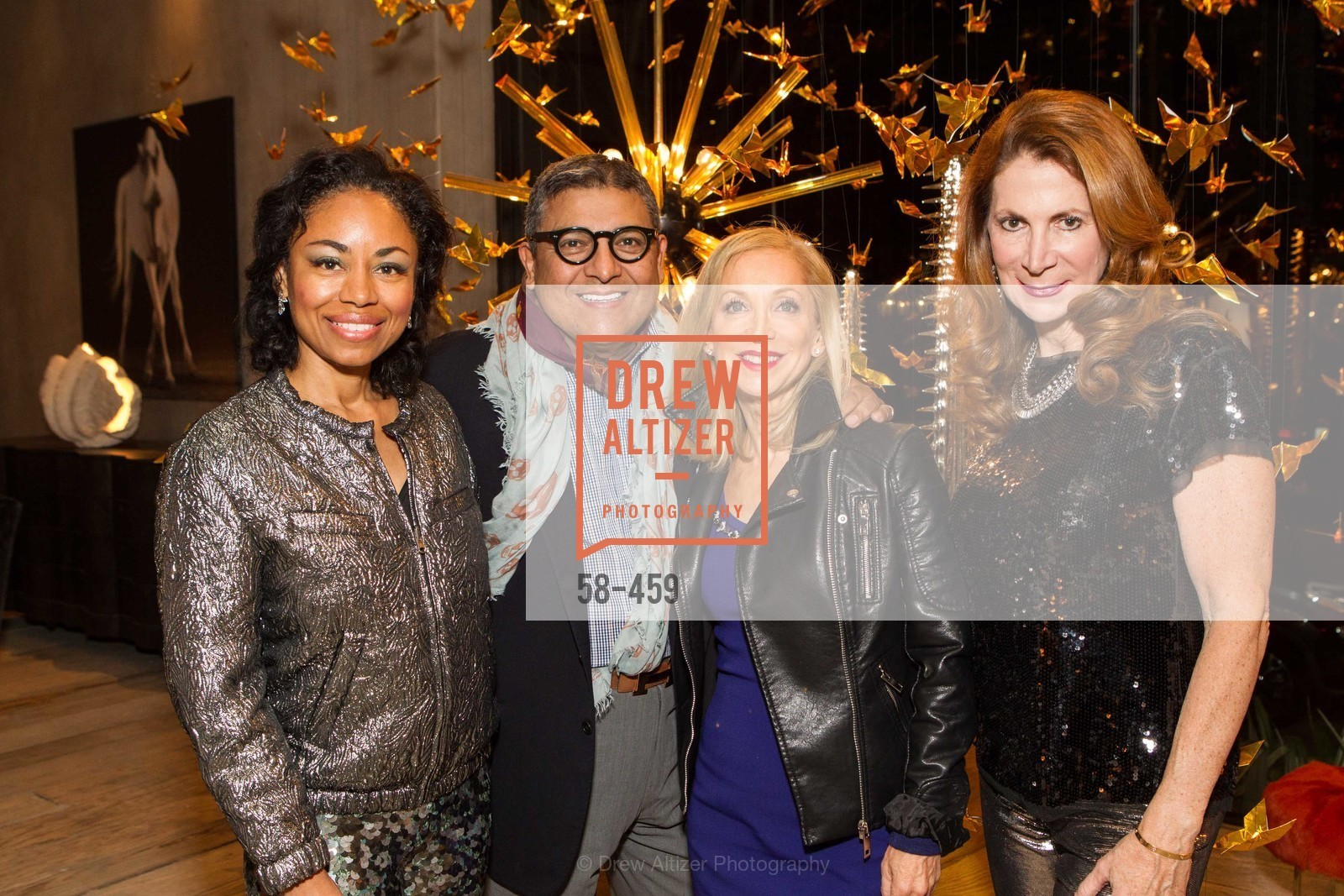 Tanya Powell, Riccardo Benavides, Shelley Gordon, Patricia Ferrin Loucks, 2014 SAN FRANCISCO BALLET OPENING NIGHT GALA Patron and Sponsor Reception, US. US, January 14th, 2014,Drew Altizer, Drew Altizer Photography, full-service agency, private events, San Francisco photographer, photographer california