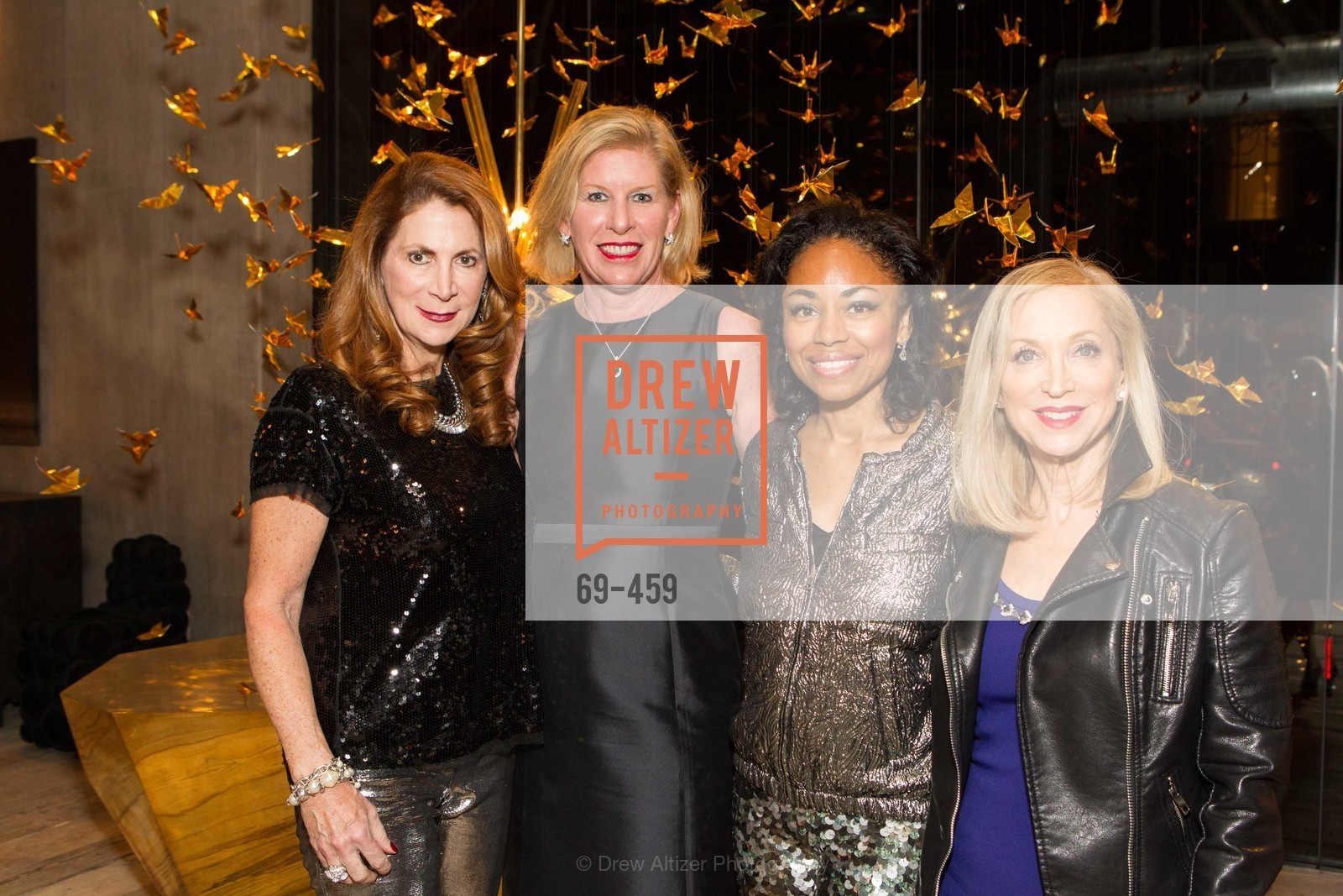 Patricia Ferrin Loucks, Jennifer Brandenburg, Tanya Powell, Shelley Gordon, 2014 SAN FRANCISCO BALLET OPENING NIGHT GALA Patron and Sponsor Reception, US. US, January 14th, 2014,Drew Altizer, Drew Altizer Photography, full-service agency, private events, San Francisco photographer, photographer california