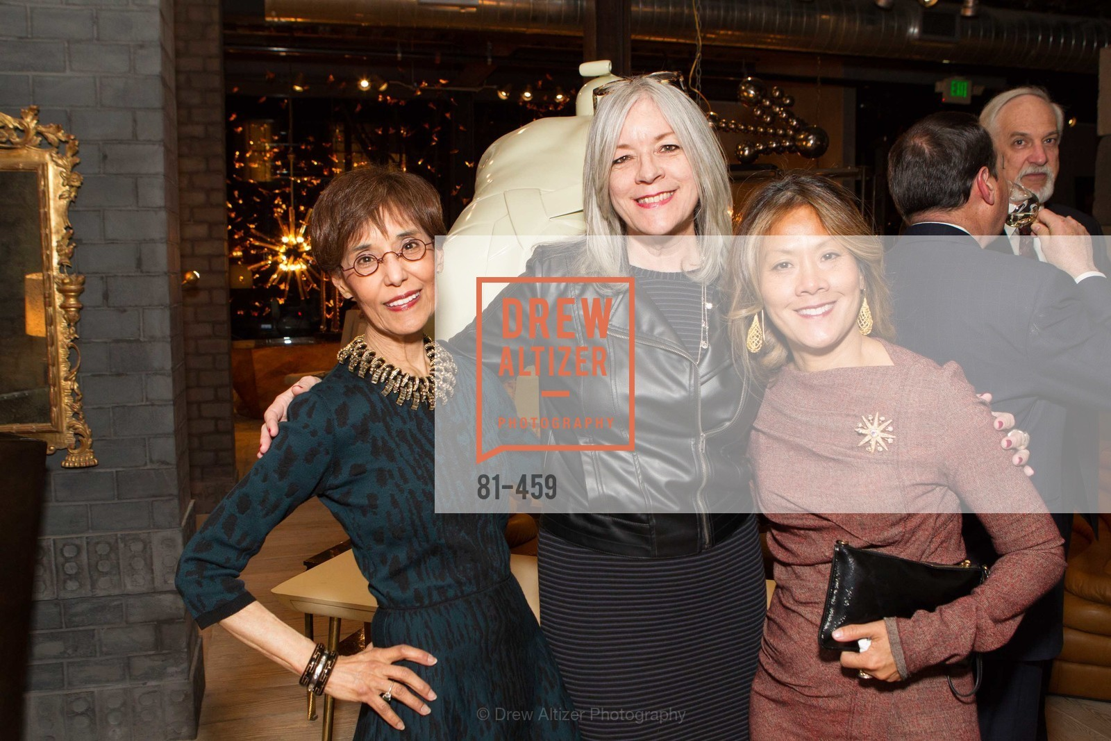 Beatrice Wood, Christy Lopez, Virginia Price, 2014 SAN FRANCISCO BALLET OPENING NIGHT GALA Patron and Sponsor Reception, US. US, January 14th, 2014,Drew Altizer, Drew Altizer Photography, full-service agency, private events, San Francisco photographer, photographer california
