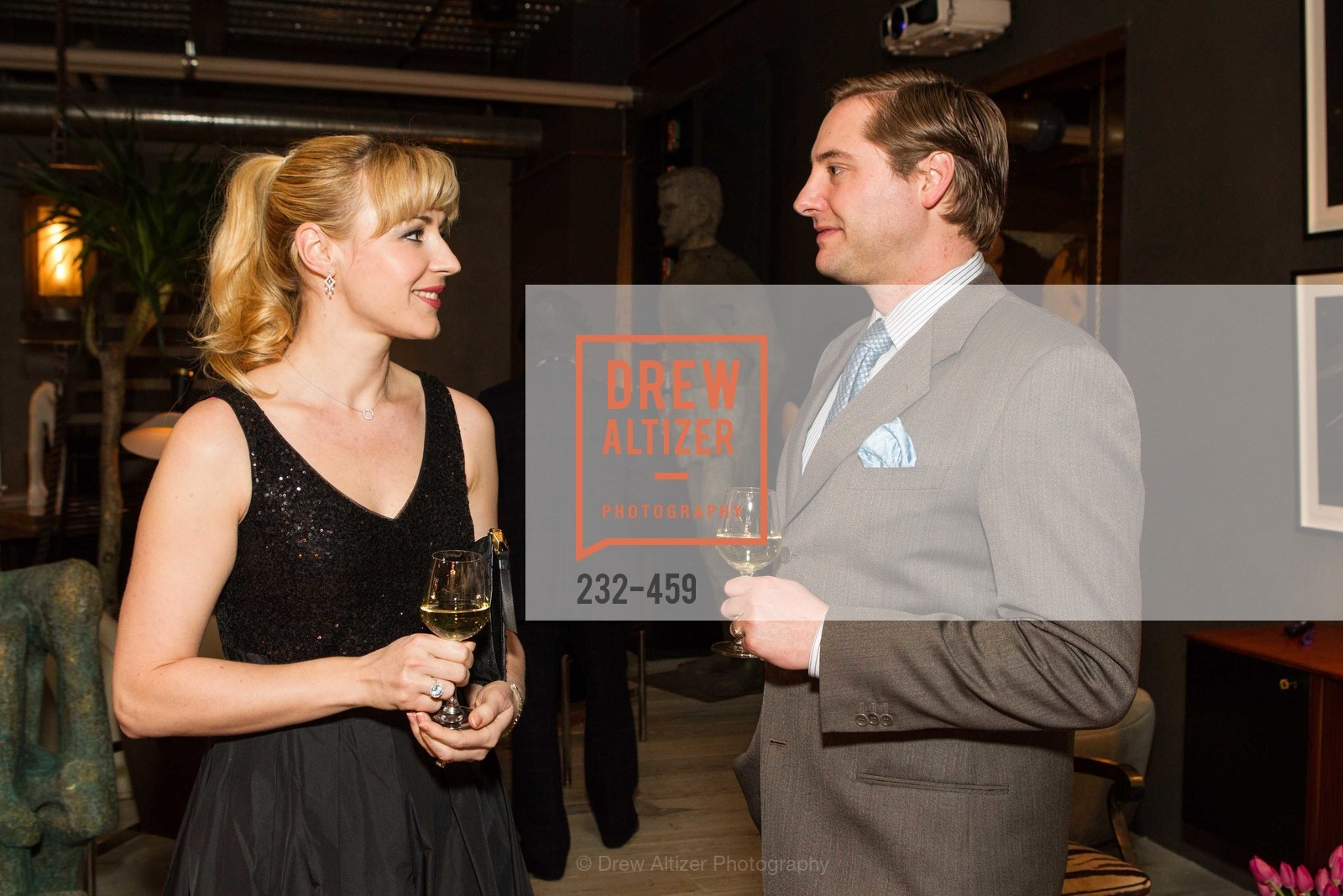 Liza Gustafson, Brian Gustafson, 2014 SAN FRANCISCO BALLET OPENING NIGHT GALA Patron and Sponsor Reception, US. US, January 14th, 2014,Drew Altizer, Drew Altizer Photography, full-service agency, private events, San Francisco photographer, photographer california