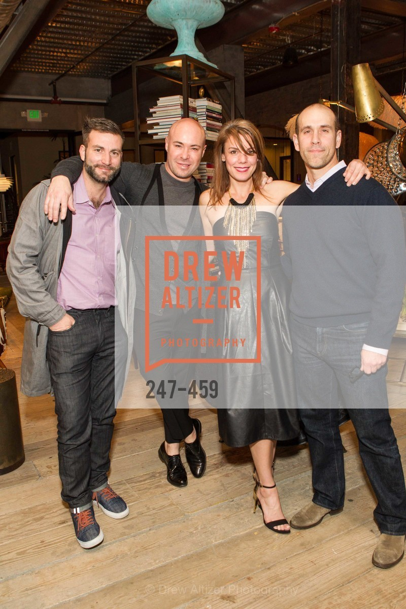 Jason Jackson, Darin Geise, Tiffany Emerson, Dean Raft, 2014 SAN FRANCISCO BALLET OPENING NIGHT GALA Patron and Sponsor Reception, US. US, January 14th, 2014,Drew Altizer, Drew Altizer Photography, full-service agency, private events, San Francisco photographer, photographer california