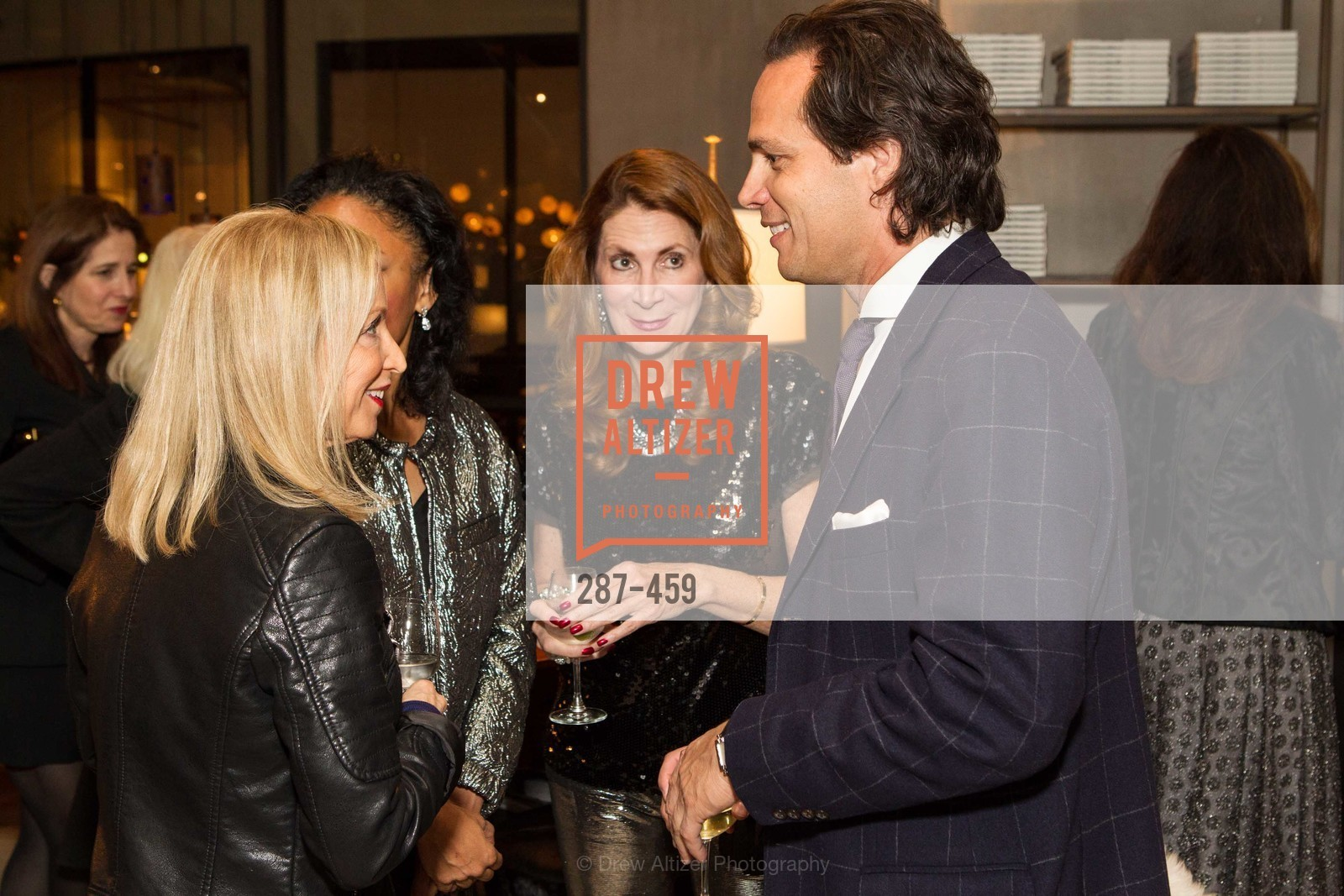 Shelley Gordon, Tanya Powell, Patricia Ferrin Loucks, Thomas Del Beccaro, 2014 SAN FRANCISCO BALLET OPENING NIGHT GALA Patron and Sponsor Reception, US. US, January 14th, 2014,Drew Altizer, Drew Altizer Photography, full-service agency, private events, San Francisco photographer, photographer california
