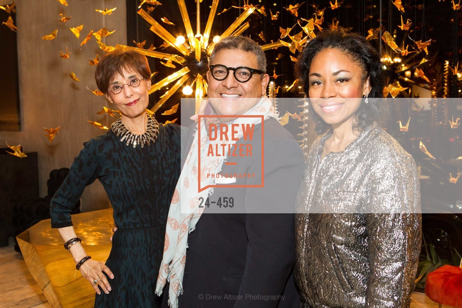Beatrice Wood, Riccardo Benavides, Tanya Powell, 2014 SAN FRANCISCO BALLET OPENING NIGHT GALA Patron and Sponsor Reception, US. US, January 14th, 2014,Drew Altizer, Drew Altizer Photography, full-service agency, private events, San Francisco photographer, photographer california