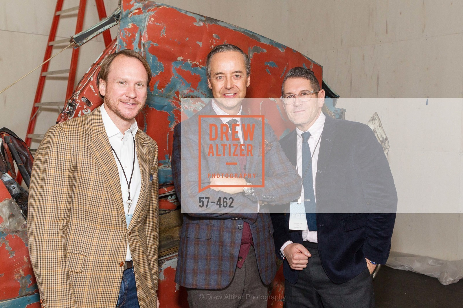 Roth Martin, Douglas Durkin, Steven Volpe, FOG Design + Art Designers Forum Preview, US. Fort Mason Festival Pavilion, January 15th, 2014,Drew Altizer, Drew Altizer Photography, full-service agency, private events, San Francisco photographer, photographer california