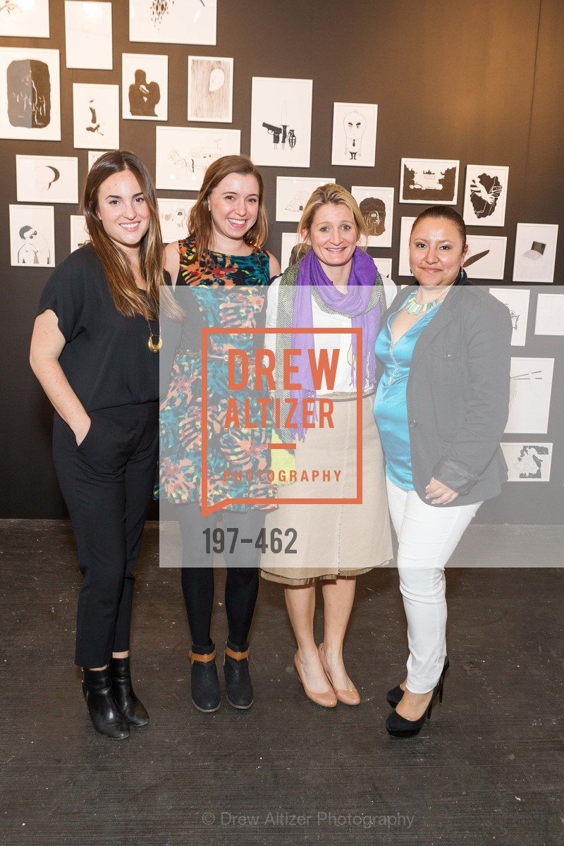 Kristina Olivera, Melanie Scanlin, Fleur Keyes, Marta Villela, FOG Design + Art Designers Forum Preview, US. Fort Mason Festival Pavilion, January 15th, 2014,Drew Altizer, Drew Altizer Photography, full-service agency, private events, San Francisco photographer, photographer california