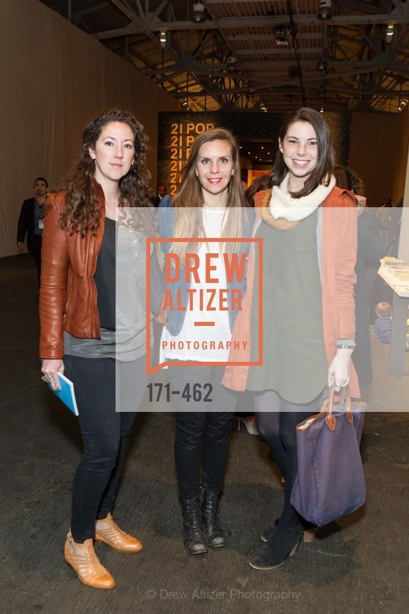 Michelle Mullinnix, Emily Ord, Erin O'Brien, FOG Design + Art Designers Forum Preview, US. Fort Mason Festival Pavilion, January 15th, 2014,Drew Altizer, Drew Altizer Photography, full-service agency, private events, San Francisco photographer, photographer california