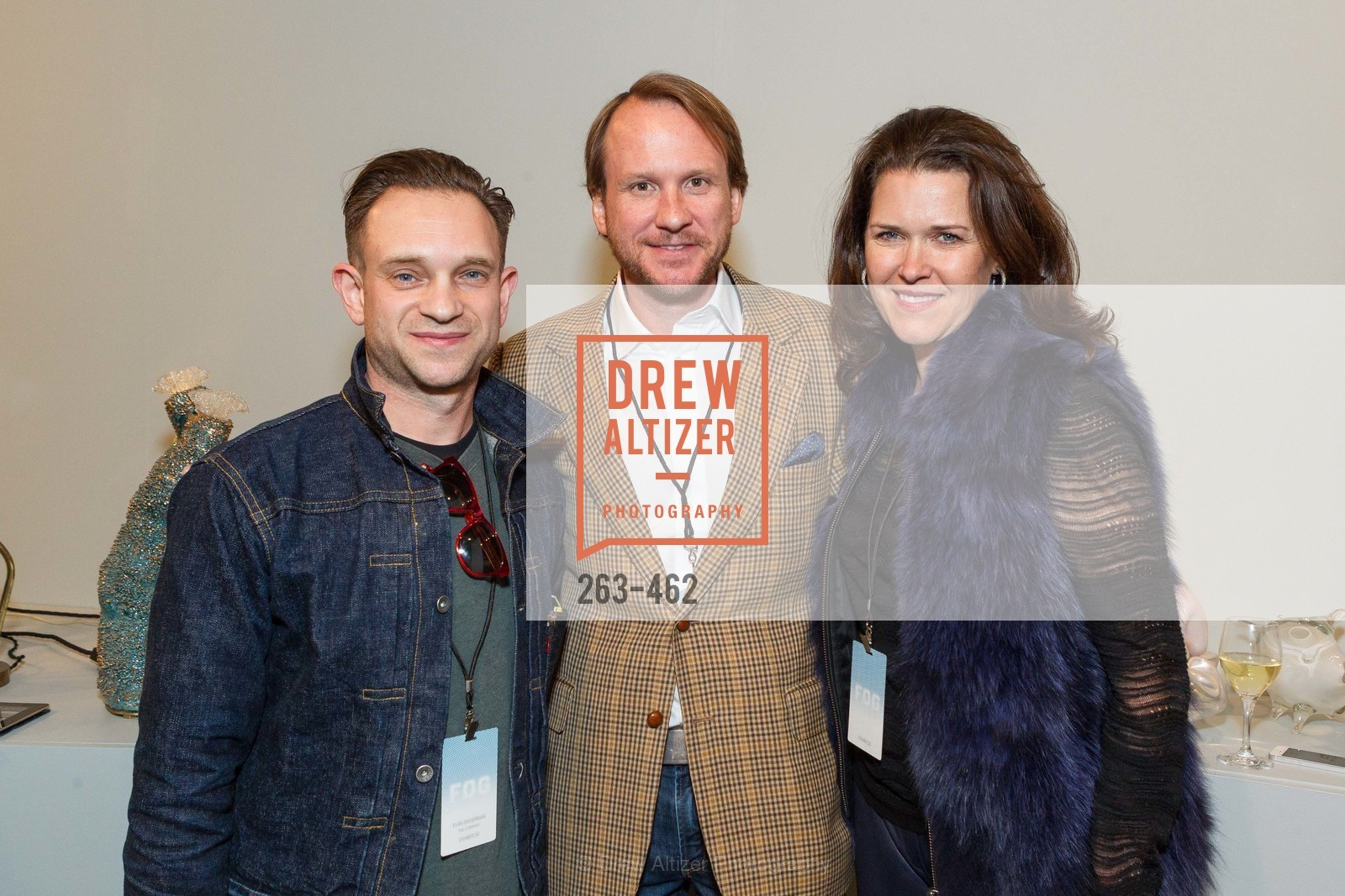 Evan Snyderman, Roth Martin, Kendall Wilkinson, FOG Design + Art Designers Forum Preview, US. Fort Mason Festival Pavilion, January 15th, 2014,Drew Altizer, Drew Altizer Photography, full-service event agency, private events, San Francisco photographer, photographer California