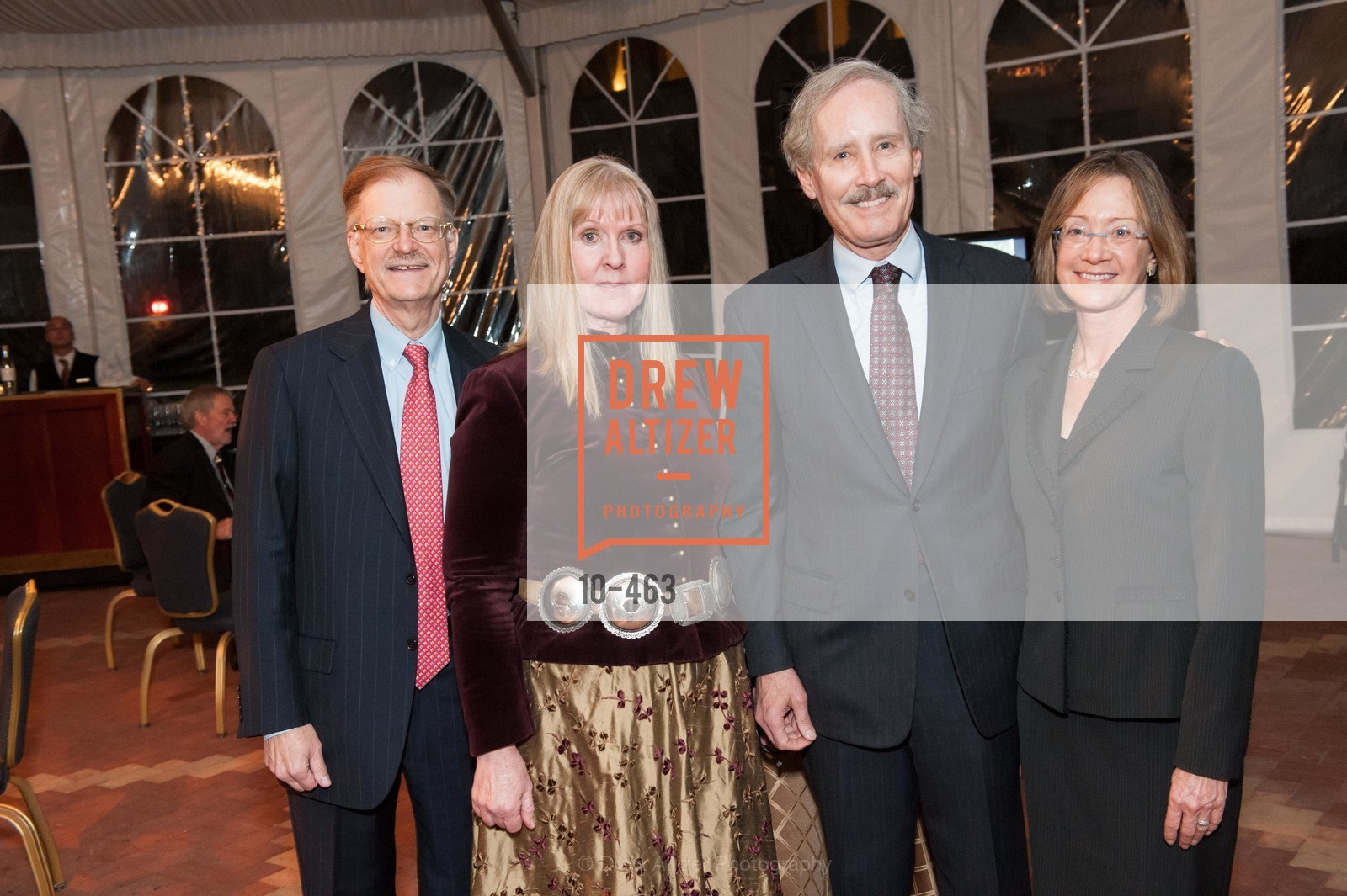 Jim Lyons, Mary Jane Lyons, Doug Young, Terry Young, UCSF Nina Ireland Program for Lung Health Dinner, US. The Terrace Room, The Ritz-Carlton Hotel, January 15th, 2014,Drew Altizer, Drew Altizer Photography, full-service agency, private events, San Francisco photographer, photographer california
