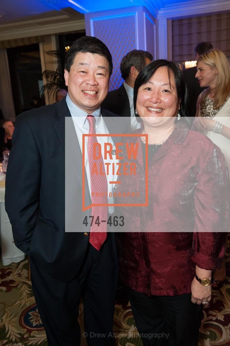 Lawrence Wong, Susan Chang, UCSF Nina Ireland Program for Lung Health Dinner, US. The Terrace Room, The Ritz-Carlton Hotel, January 15th, 2014,Drew Altizer, Drew Altizer Photography, full-service agency, private events, San Francisco photographer, photographer california