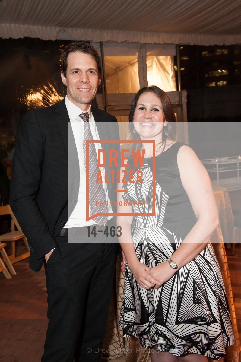 Hal Collard, Olivia Herbert, UCSF Nina Ireland Program for Lung Health Dinner, US. The Terrace Room, The Ritz-Carlton Hotel, January 15th, 2014,Drew Altizer, Drew Altizer Photography, full-service agency, private events, San Francisco photographer, photographer california