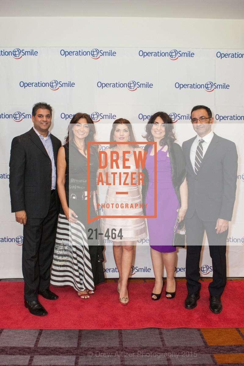 Alvin DeCosta, Lyla Turkzadeh, Shabnam Farzaneh, Marjan Noroozi, Amad Bahai, Operation Smile Presents THE SAN FRANCISCO 2015 SMILE GALA, InterContinental Hotel, November 7th, 2015