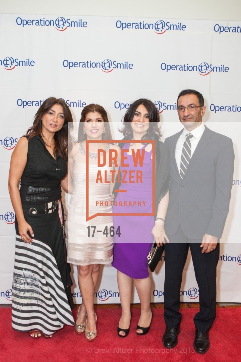 Alvin DeCosta, Lyla Turkzadeh, Shabnam Farzaneh, Marjan Noroozi, Amad Bahai, Operation Smile Presents THE SAN FRANCISCO 2015 SMILE GALA, InterContinental Hotel, November 7th, 2015,Drew Altizer, Drew Altizer Photography, full-service agency, private events, San Francisco photographer, photographer california