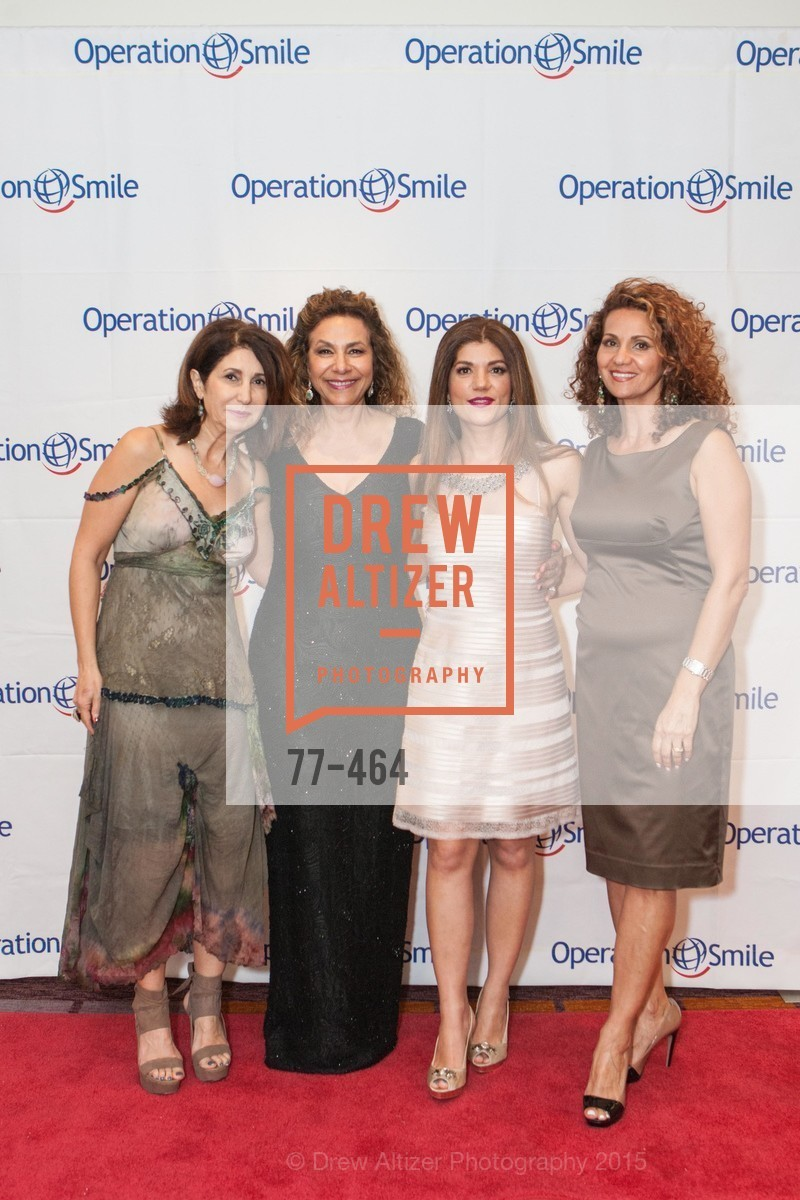 Zefarid Fenaie, Gloria Hakimi, Shabnam Farzaneh, Mozdeh Saleh, Operation Smile Presents THE SAN FRANCISCO 2015 SMILE GALA, InterContinental Hotel, November 7th, 2015,Drew Altizer, Drew Altizer Photography, full-service agency, private events, San Francisco photographer, photographer california