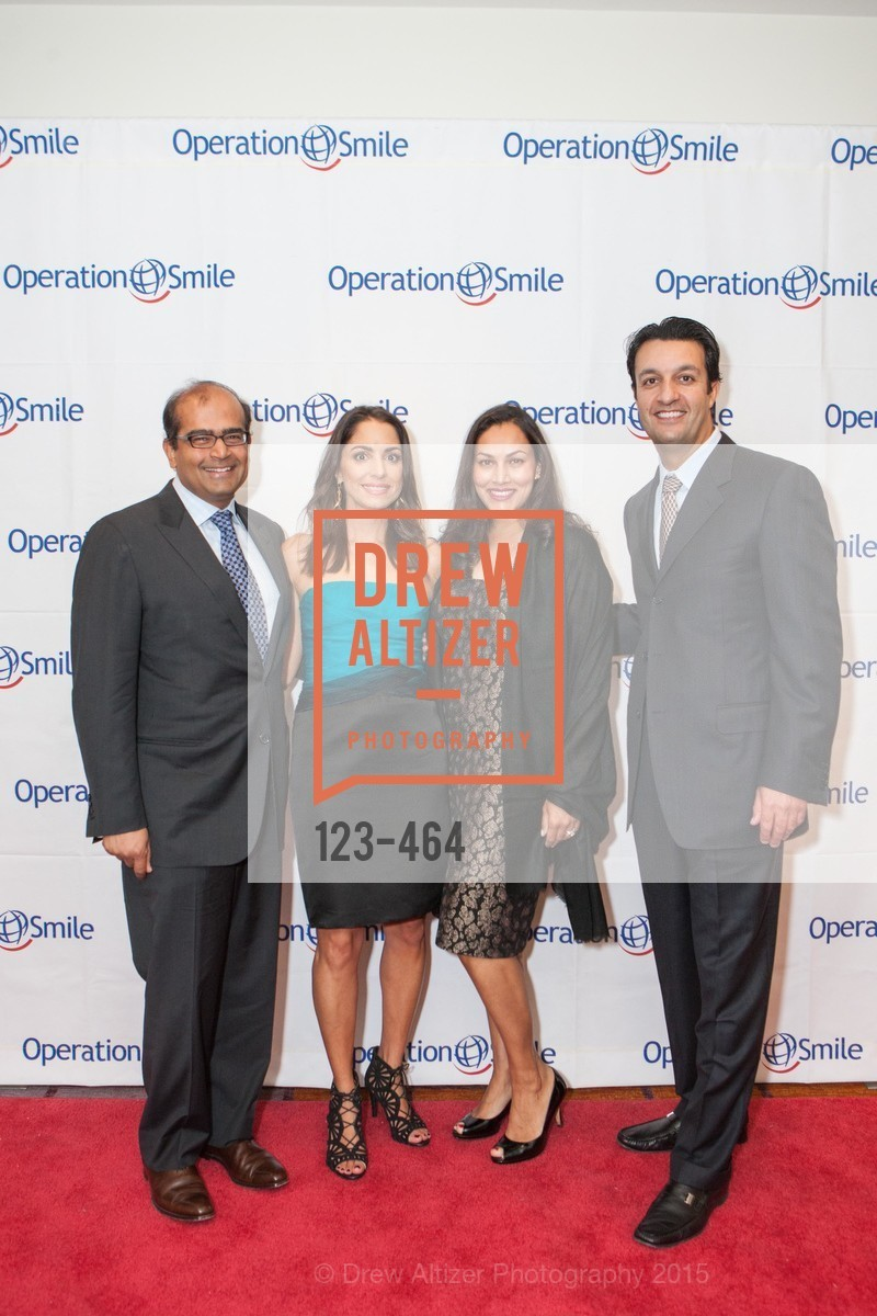 Varun Marya, Shirin Aryanpour, Rashmi Marya, Reza Aryanpour, Operation Smile Presents THE SAN FRANCISCO 2015 SMILE GALA, InterContinental Hotel, November 7th, 2015,Drew Altizer, Drew Altizer Photography, full-service agency, private events, San Francisco photographer, photographer california