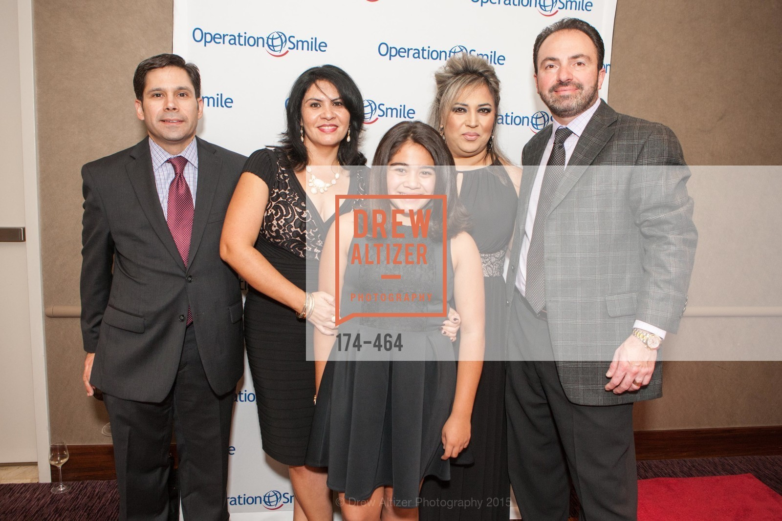 Gary Barrera, Fiorella Barrera, Arianna Barrera, Nilou Ipaktchi, Fred Ipaktchi, Operation Smile Presents THE SAN FRANCISCO 2015 SMILE GALA, InterContinental Hotel, November 7th, 2015,Drew Altizer, Drew Altizer Photography, full-service agency, private events, San Francisco photographer, photographer california