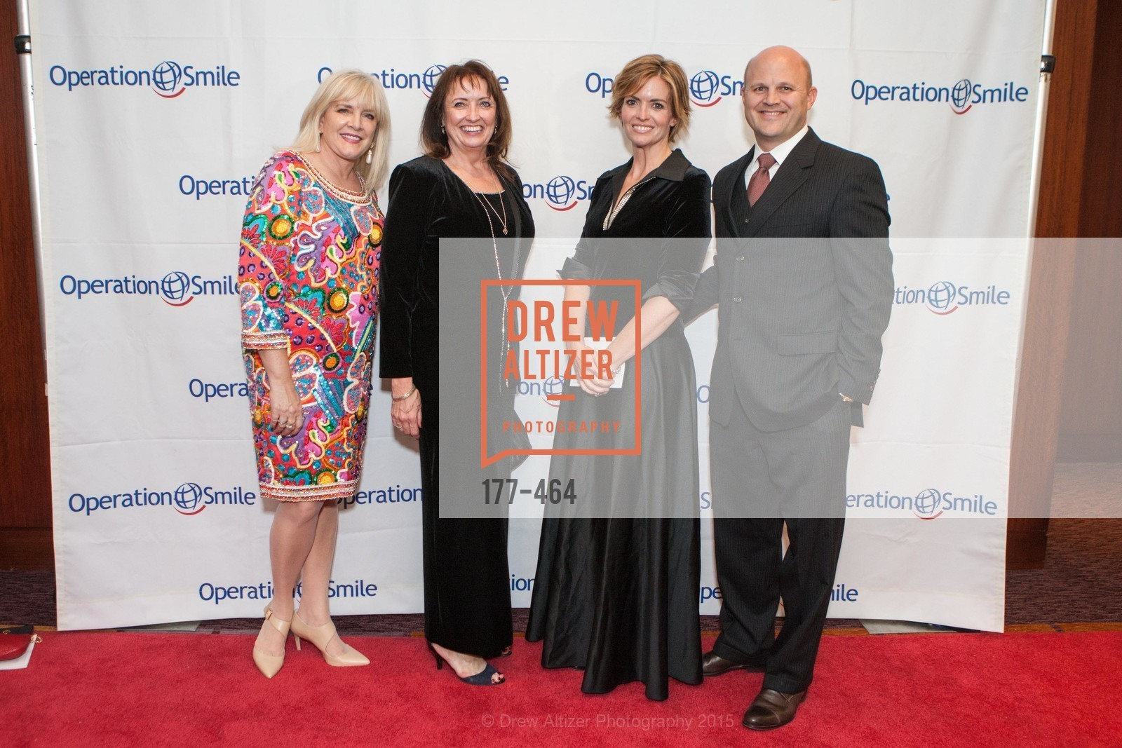 Pamela Frost, Shauna Woods Bingham, Jacey Davis, Fred Davis, Operation Smile Presents THE SAN FRANCISCO 2015 SMILE GALA, InterContinental Hotel, November 7th, 2015,Drew Altizer, Drew Altizer Photography, full-service agency, private events, San Francisco photographer, photographer california