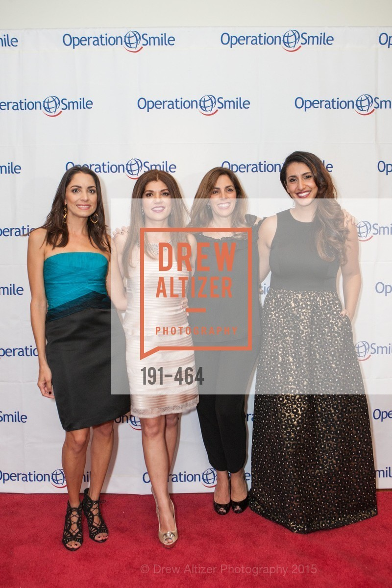 Shirin Aryanpour, Shabnam Farzaneh, Lisa Lori, Sara Agah Franti, Operation Smile Presents THE SAN FRANCISCO 2015 SMILE GALA, InterContinental Hotel, November 7th, 2015,Drew Altizer, Drew Altizer Photography, full-service agency, private events, San Francisco photographer, photographer california