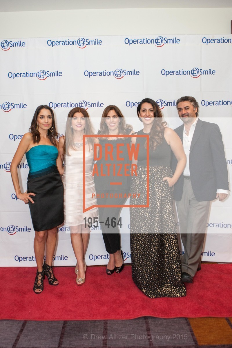 Shirin Aryanpour, Shabnam Farzaneh, Lisa Lori, Sara Agah Franti, Hooman Khalili, Operation Smile Presents THE SAN FRANCISCO 2015 SMILE GALA, InterContinental Hotel, November 7th, 2015,Drew Altizer, Drew Altizer Photography, full-service agency, private events, San Francisco photographer, photographer california