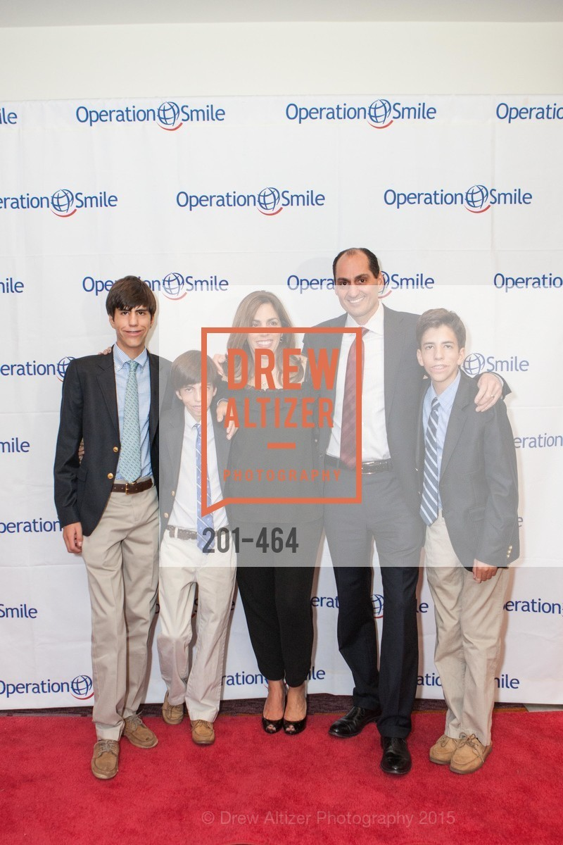 Zachary Lori, Griffin Lori, Lisa Lori, Mat Lori, Luke Lori, Operation Smile Presents THE SAN FRANCISCO 2015 SMILE GALA, InterContinental Hotel, November 7th, 2015,Drew Altizer, Drew Altizer Photography, full-service agency, private events, San Francisco photographer, photographer california