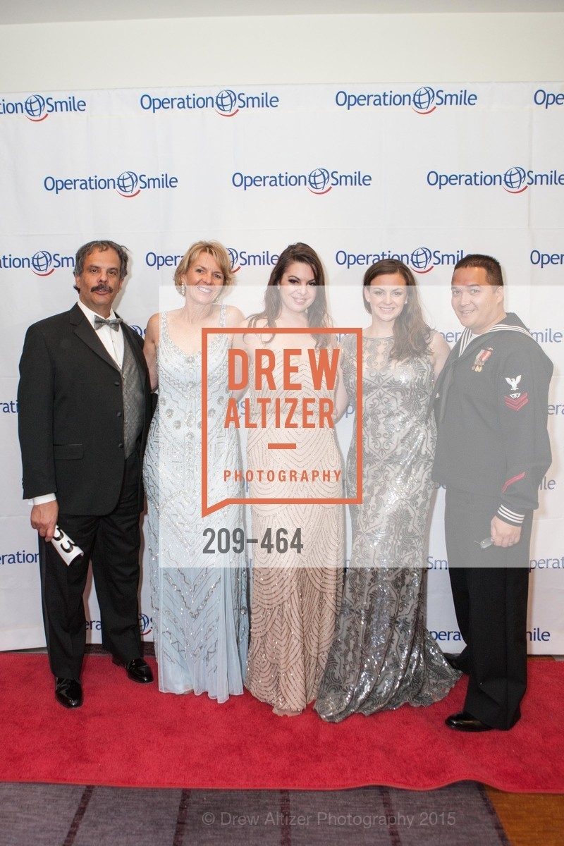 Edward Del Beccaro, Denise Del Beccaro, Erith Del Beccaro, Lilly Del Beccaro, Christopher Vaughan, Operation Smile Presents THE SAN FRANCISCO 2015 SMILE GALA, InterContinental Hotel, November 7th, 2015,Drew Altizer, Drew Altizer Photography, full-service agency, private events, San Francisco photographer, photographer california