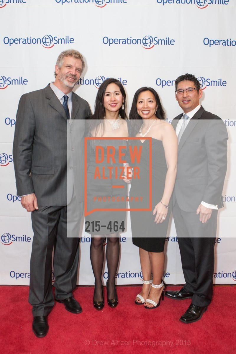 Tom Lenk, Yen Nguyen-Lenk, Gene Shimane, Casey Shimane, Operation Smile Presents THE SAN FRANCISCO 2015 SMILE GALA, InterContinental Hotel, November 7th, 2015,Drew Altizer, Drew Altizer Photography, full-service agency, private events, San Francisco photographer, photographer california