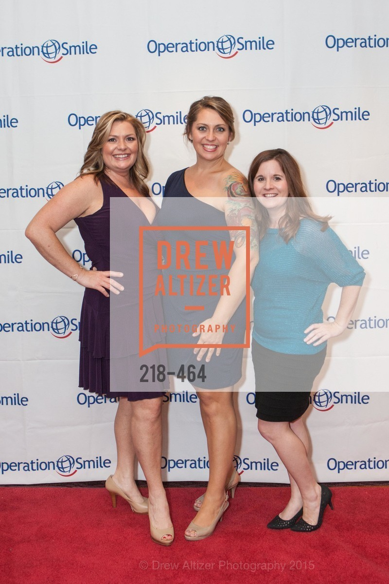 Trina Reagan, Crystal Reagan, Kim Reyes, Operation Smile Presents THE SAN FRANCISCO 2015 SMILE GALA, InterContinental Hotel, November 7th, 2015,Drew Altizer, Drew Altizer Photography, full-service agency, private events, San Francisco photographer, photographer california