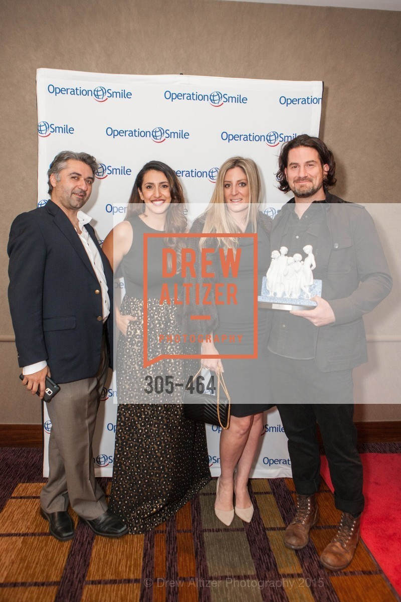 Hooman Khalili, Sara Agah Franti, Parisa O'Connell, Matt Nathanson, Operation Smile Presents THE SAN FRANCISCO 2015 SMILE GALA, InterContinental Hotel, November 7th, 2015,Drew Altizer, Drew Altizer Photography, full-service agency, private events, San Francisco photographer, photographer california