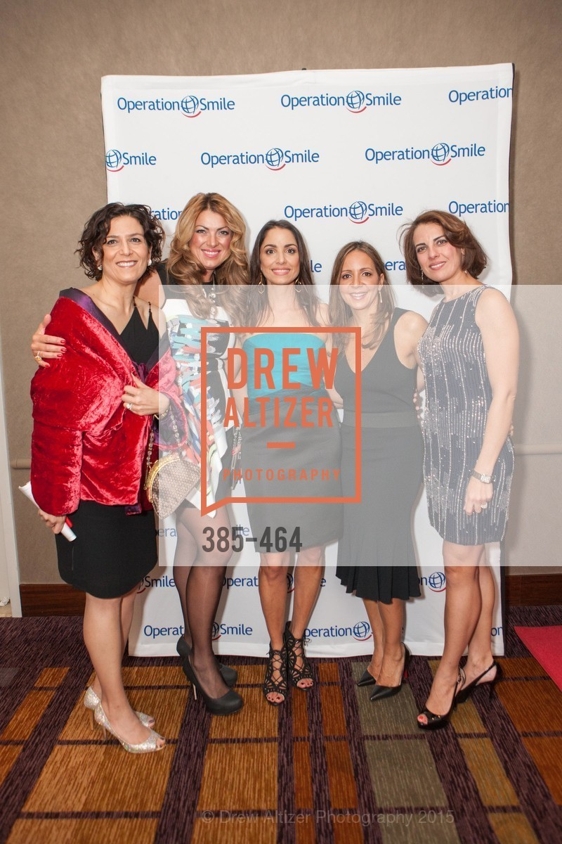 Pooneh Yamini, Claudia Karkia, Shirin Aryanpour, Ali Zadeh, Leila Azad, Operation Smile Presents THE SAN FRANCISCO 2015 SMILE GALA, InterContinental Hotel, November 7th, 2015,Drew Altizer, Drew Altizer Photography, full-service agency, private events, San Francisco photographer, photographer california