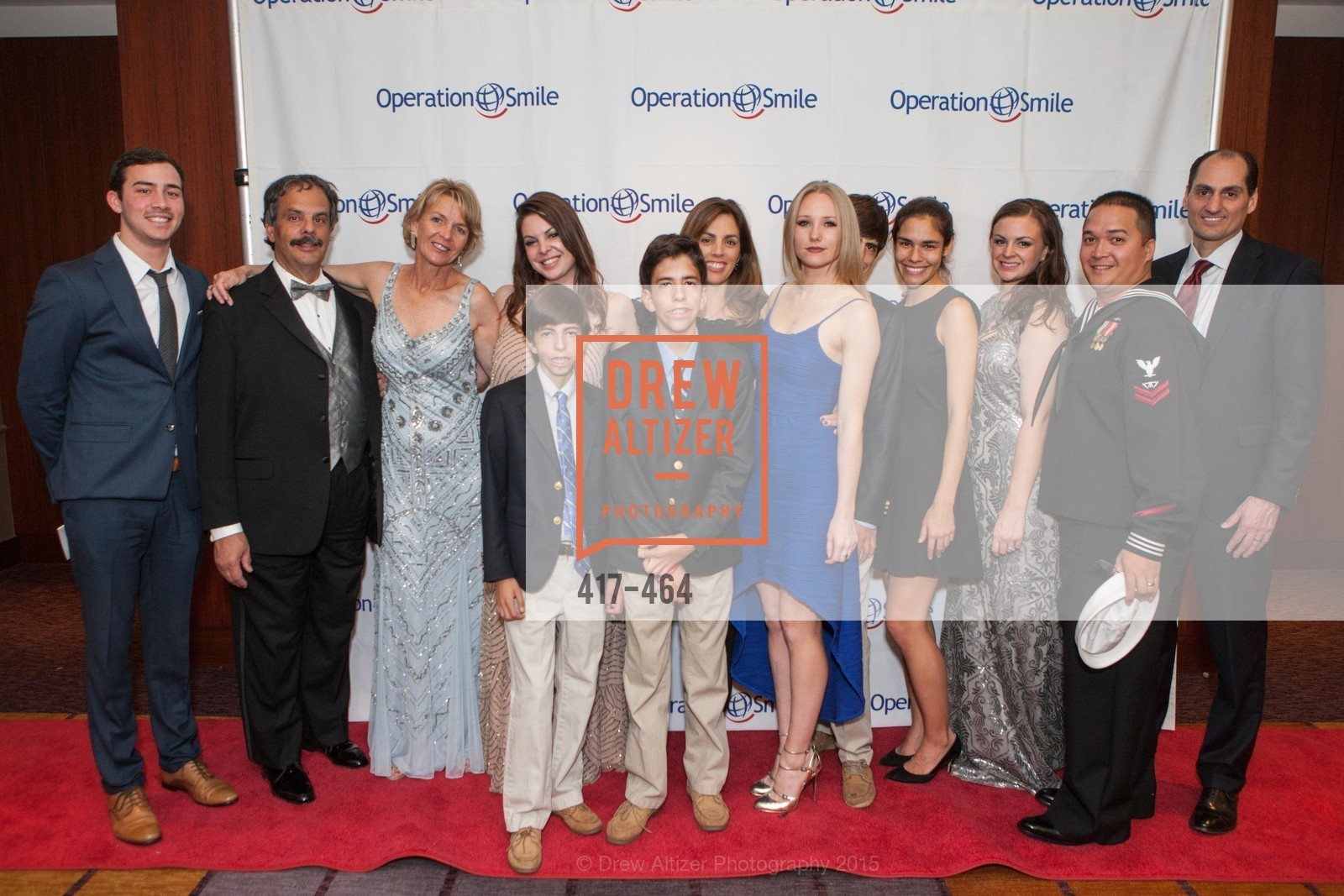 Edward Del Beccaro, Denise Del Beccaro, Griffin Lori, Erith Del Beccaro, Luke Lori, Lisa Lori, Zachary Lori, Lilly Del Beccaro, Christopher Vaughan, Mat Lori, Operation Smile Presents THE SAN FRANCISCO 2015 SMILE GALA, InterContinental Hotel, November 7th, 2015,Drew Altizer, Drew Altizer Photography, full-service agency, private events, San Francisco photographer, photographer california