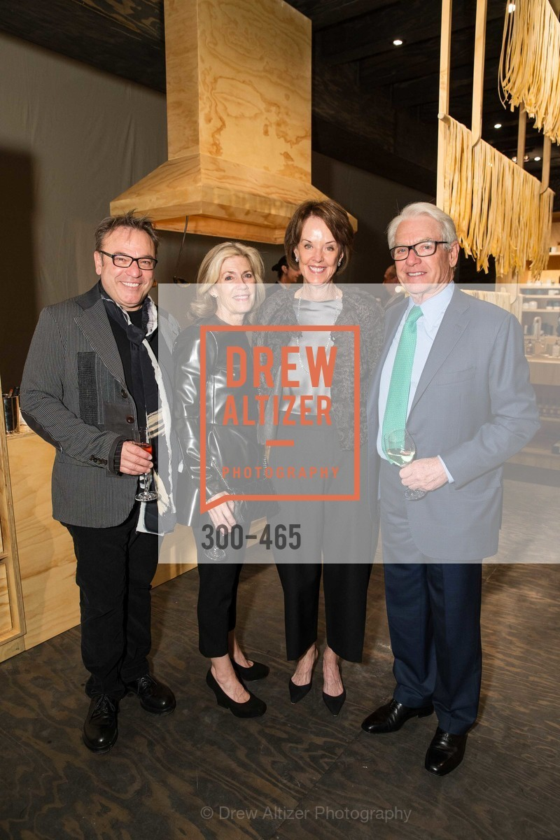 Stanlee Gatti, Cathy Topham, Helen Schwab, Charles Schwab, FOG Design + Art Preview Gala, US. US, January 16th, 2014,Drew Altizer, Drew Altizer Photography, full-service agency, private events, San Francisco photographer, photographer california