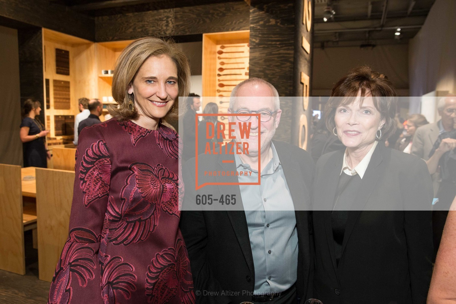 Jennifer Biederbeck, Gary Garrels, Kay Walker, FOG Design + Art Preview Gala, US. US, January 16th, 2014,Drew Altizer, Drew Altizer Photography, full-service agency, private events, San Francisco photographer, photographer california