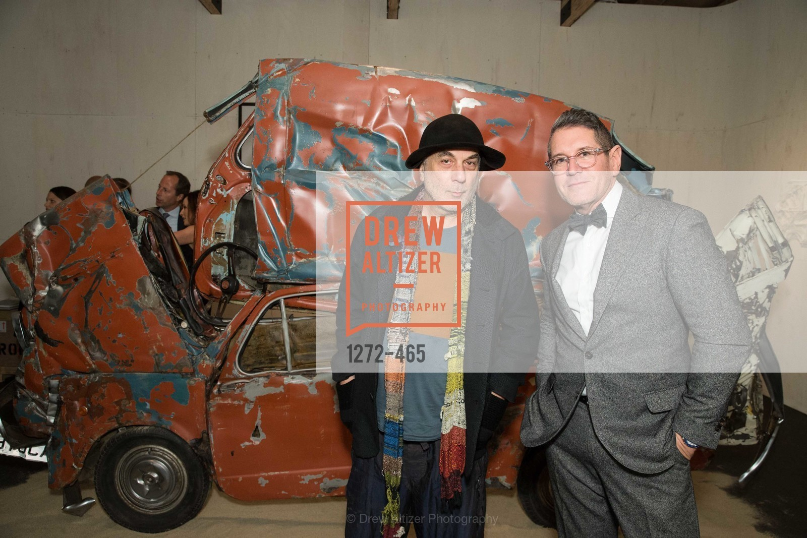 Ron Arad, Steven Volpe, FOG Design + Art Preview Gala, US. US, January 16th, 2014,Drew Altizer, Drew Altizer Photography, full-service agency, private events, San Francisco photographer, photographer california